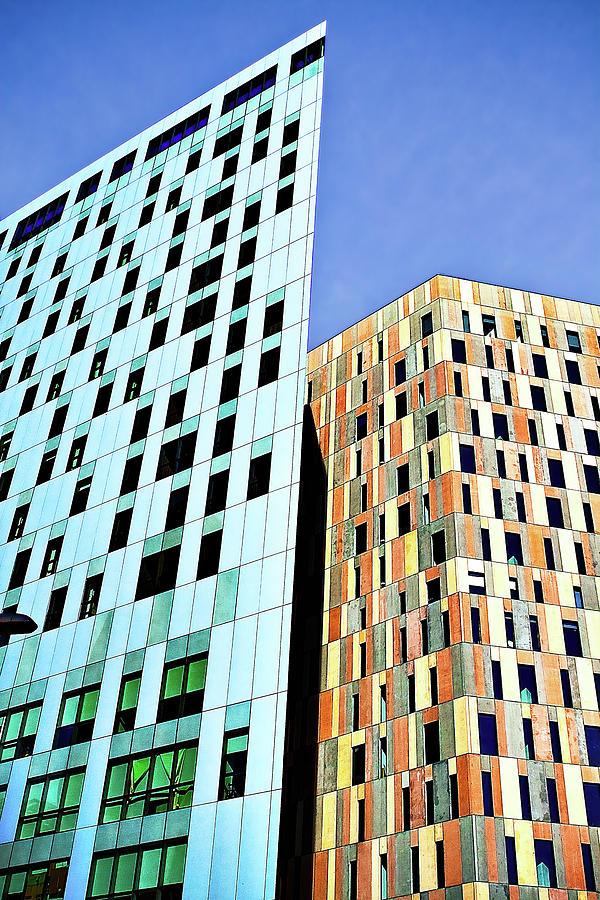 Barcelona Buildings Abstract by Robert FERD Frank