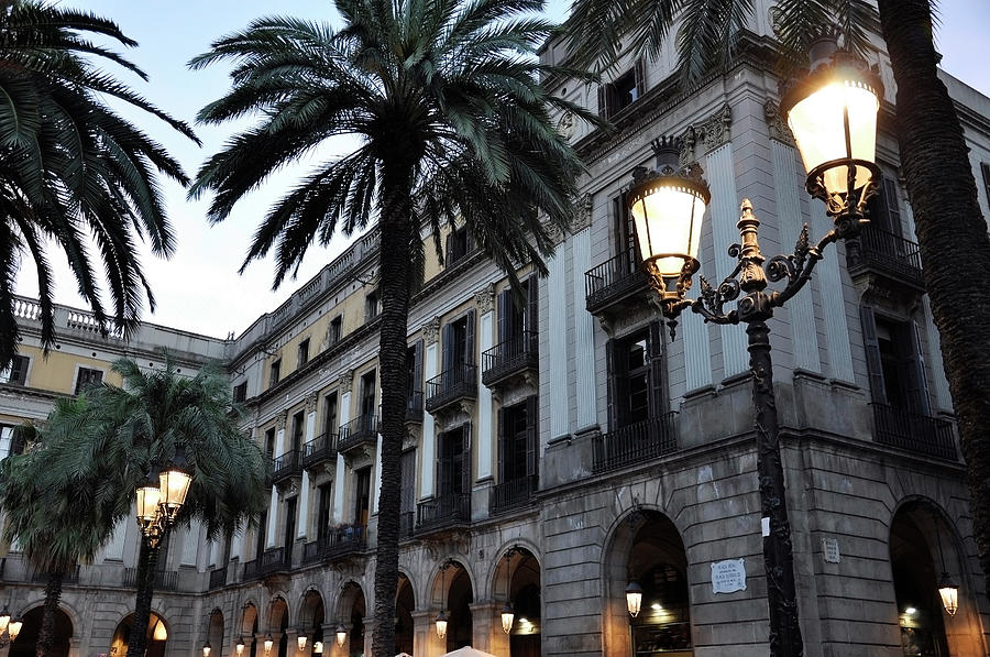 Barcelona, Placa Reial Photograph by Stefano Salvetti