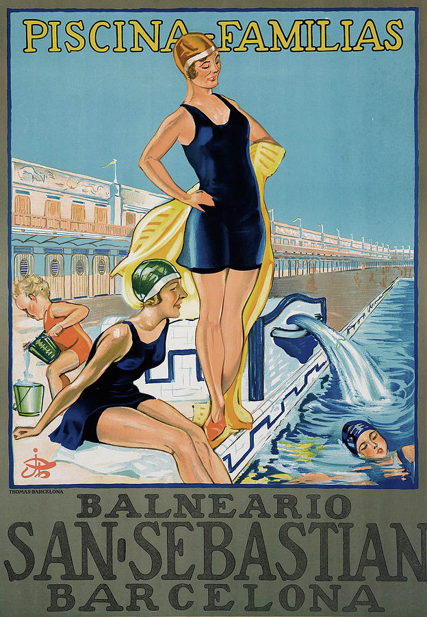 Barcelona Spa Resort Poster Photograph by Graphicaartis