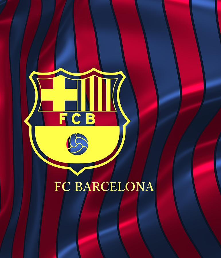 Barcelona Sport Colors Digital Art By Alberto Ruiz