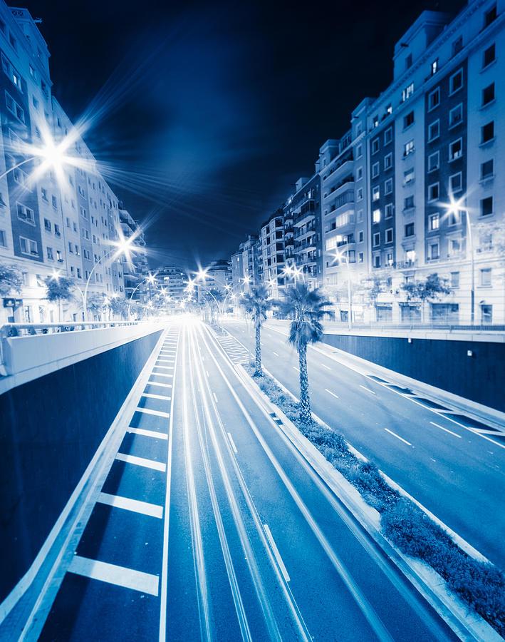 Barcelona Street Light Photograph by Franckreporter