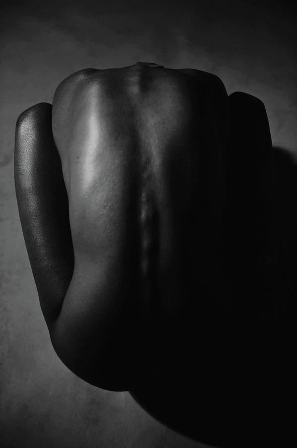 Bare Back Of A Beautiful Woman Photograph by Win-initiative