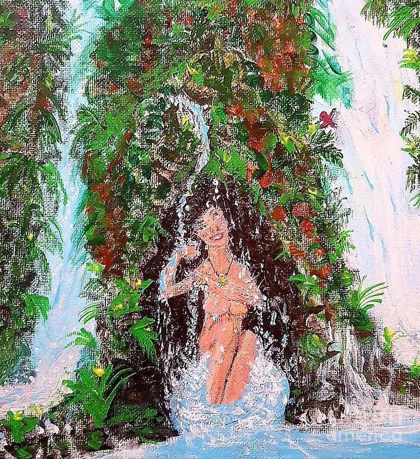 Bare Bather  by Troy Jones