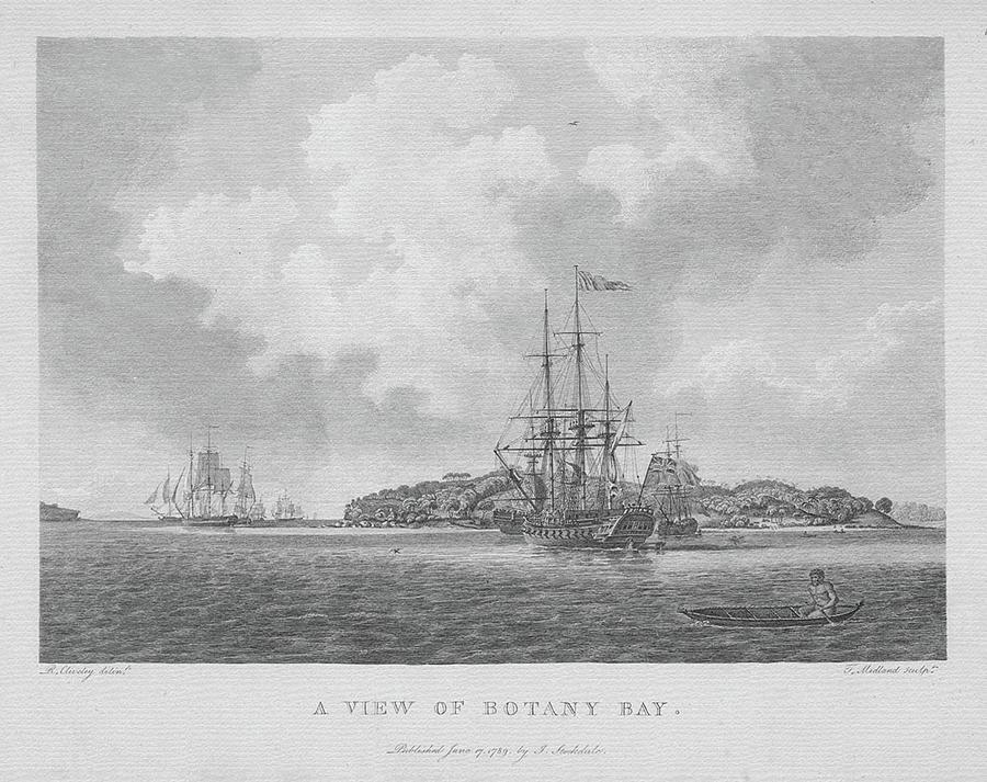 Bare Island And First Fleet by Miroslava Jurcik