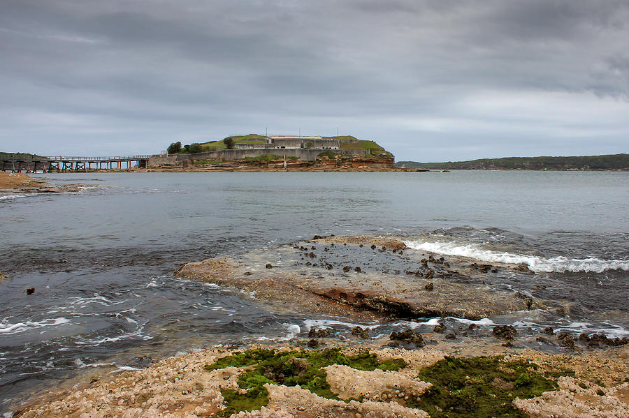 Bare Island From La Perouse Point by Miroslava Jurcik