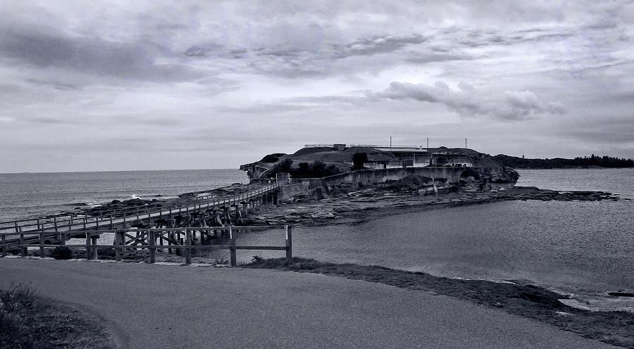 Bare Island In Black And White by Miroslava Jurcik