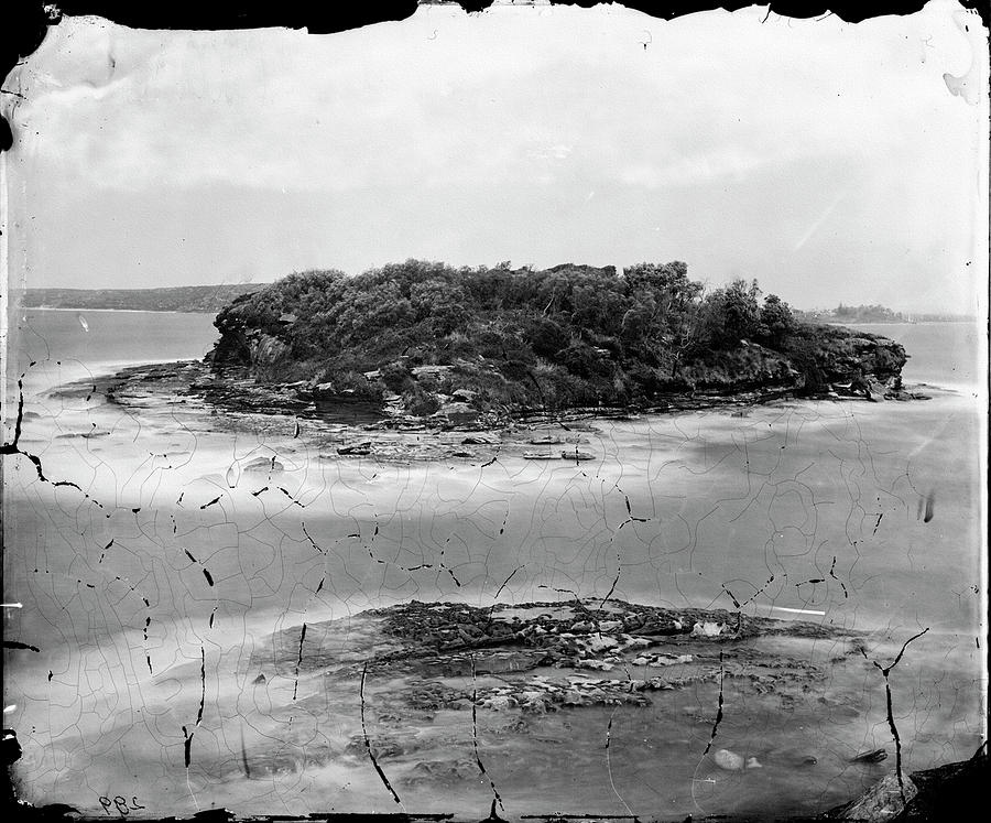 Bare Island La Perouse  Before 1870s by Miroslava Jurcik