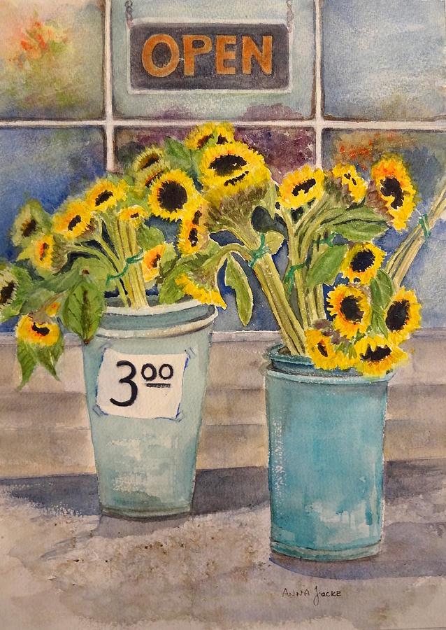 Bargain Buckets by Anna Jacke