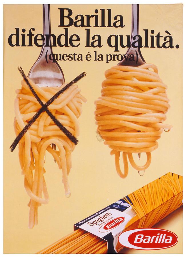 Barilla - Italian Pasta Food Company - Vintage Food ...