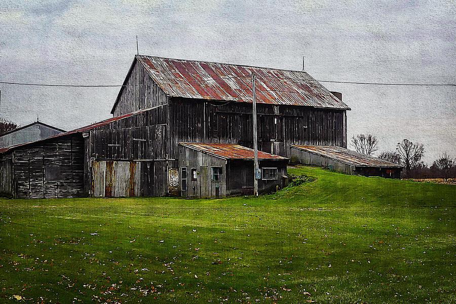 Barn 1 by Cliff Guy