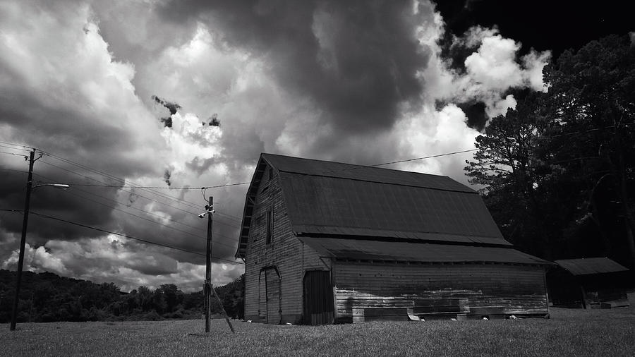 Barn and Sky by George Taylor