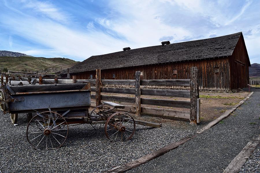 Barn Photograph - Barn At James Cant Ranch by Dana Hardy