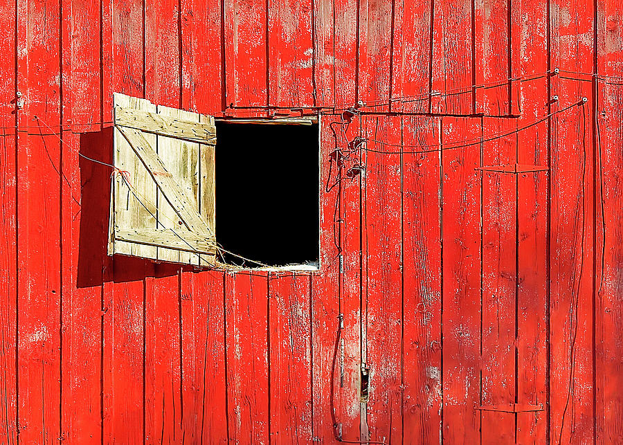 Barn Door Photograph - Barn Door Open by Todd Klassy