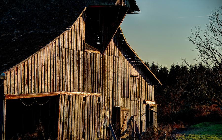 Barn Doors Open by Jerry Sodorff