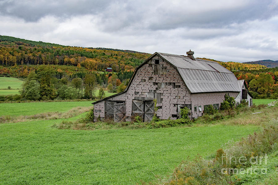 Barn in Vermont by John Greco