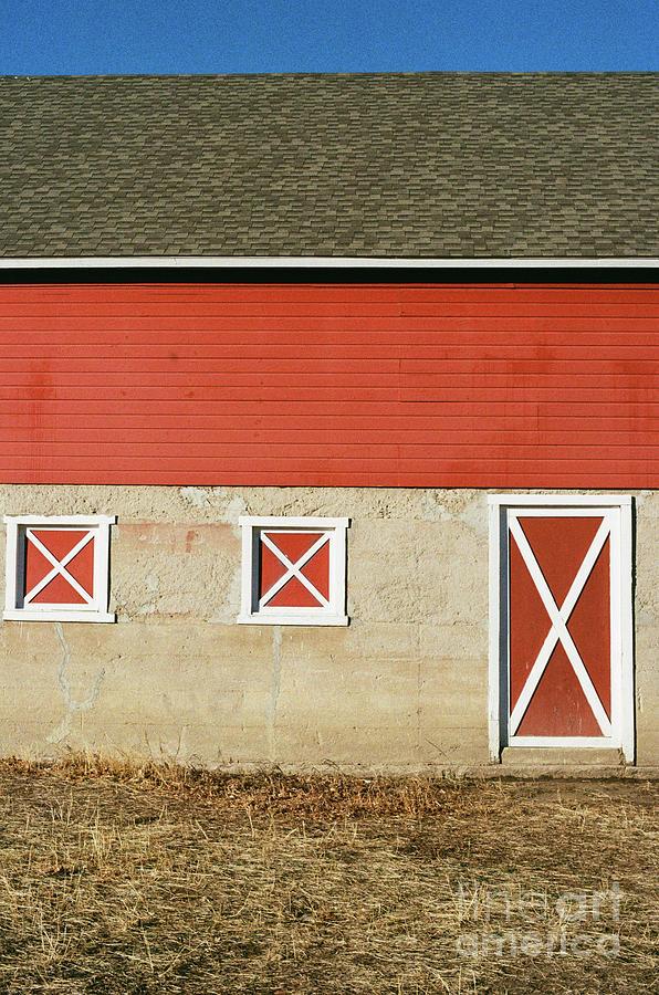 Barn Lines by Ana V Ramirez