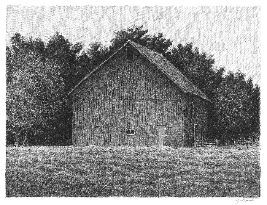 Barn On County Line Road by Joel Lueck
