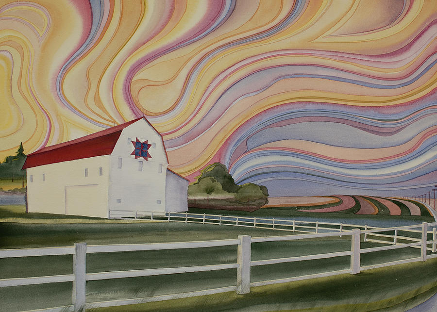 Barn on Pretty Prairie by Scott Kirby