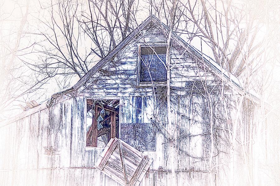 Barn Tracings by Karen McKenzie McAdoo