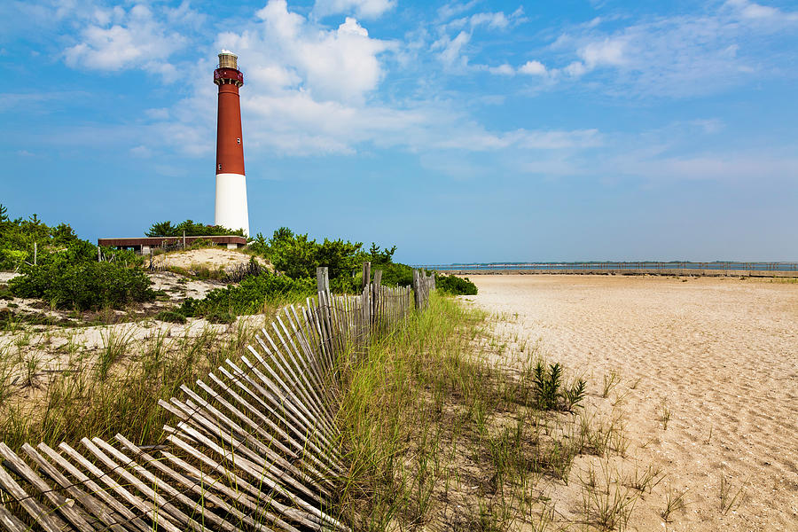 Barnegat Lighthouse, Sand, Beach, Dune Photograph by Dszc