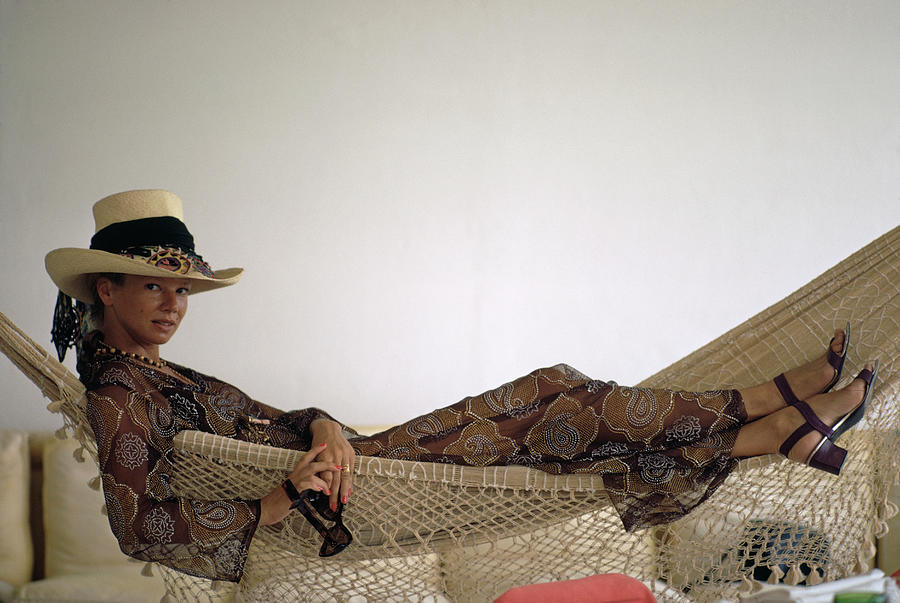 Baroness Thyssen Photograph by Slim Aarons