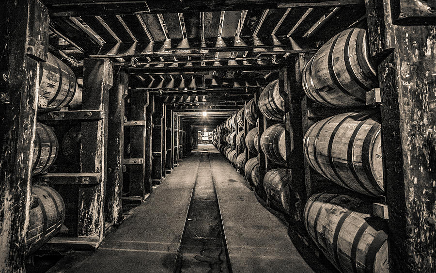 Barrel Aging Bourbon by William Christiansen