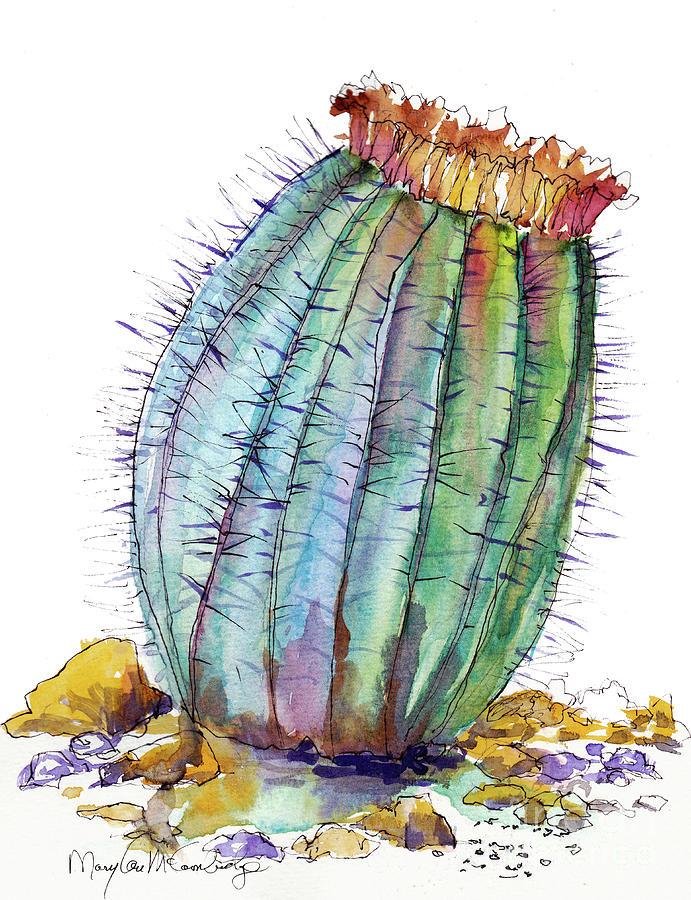 Barrel Cactus by Mary Lou McCambridge