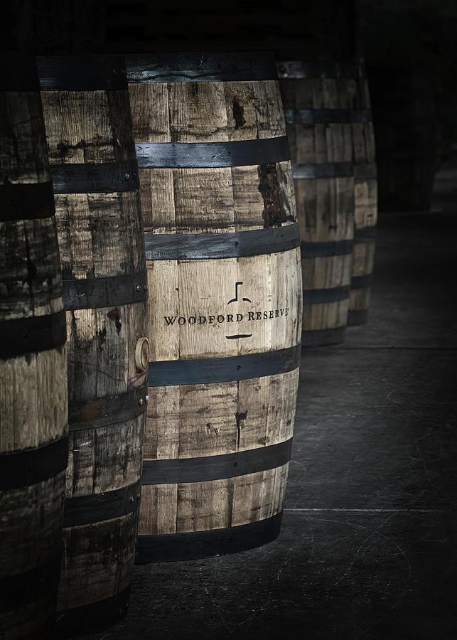 Woodford Reserve Photograph - Barrels of Bourbon by Susan Rissi Tregoning