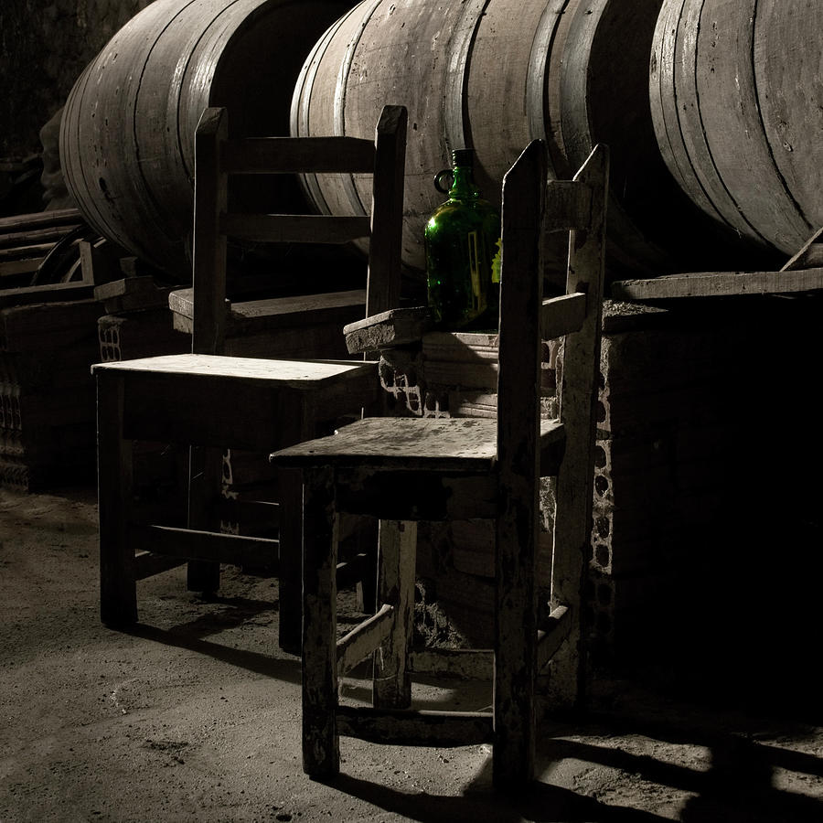 Barrels Of Wine Cellar Photograph by Fotografias De Rodolfo Velasco
