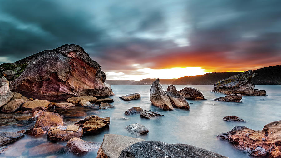 Barrenjoey Headland Photograph by John Clark Photo
