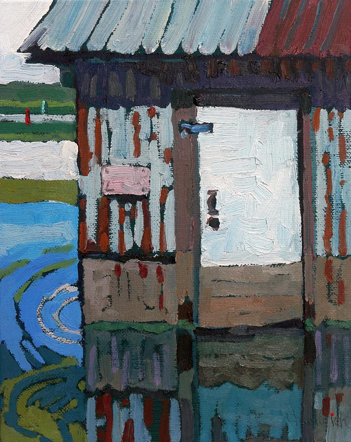 Barriefield White Door by Phil Chadwick