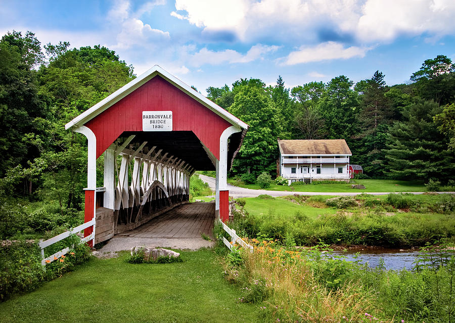 Barronvale Covered Bridge by Carolyn Derstine