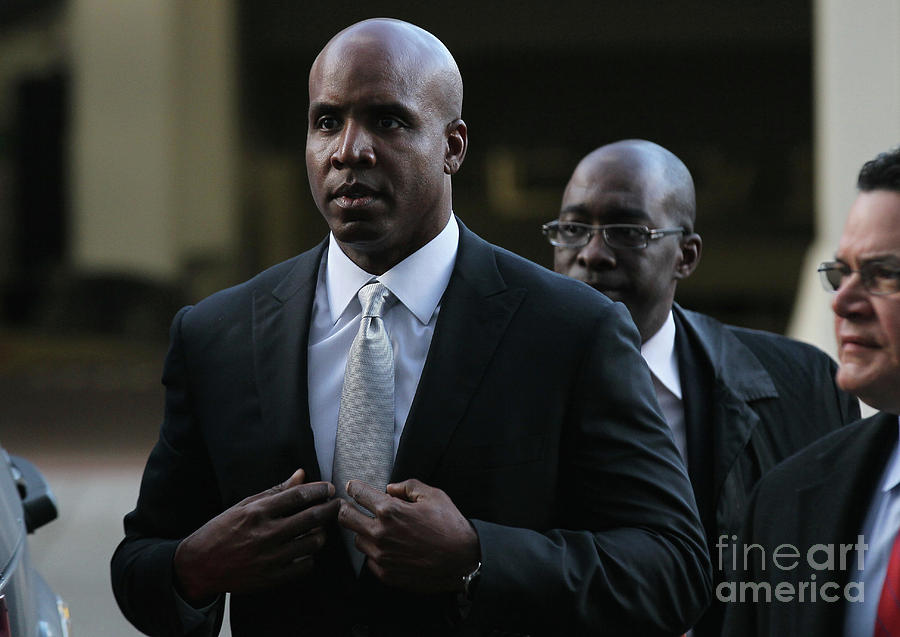 Barry Bonds Perjury Trial Begins In San Photograph by Justin Sullivan