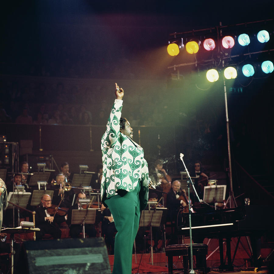 Barry White At The Albert Hall Photograph by David Redfern