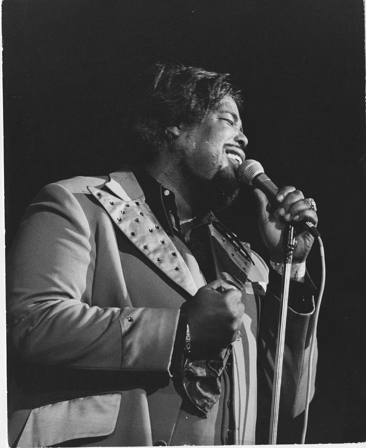 Barry White Photograph by David Redfern