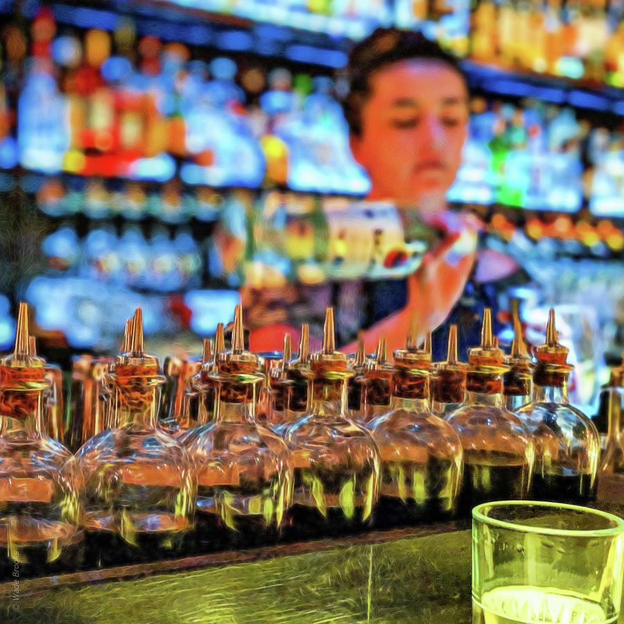 Bartender by Wade Brooks