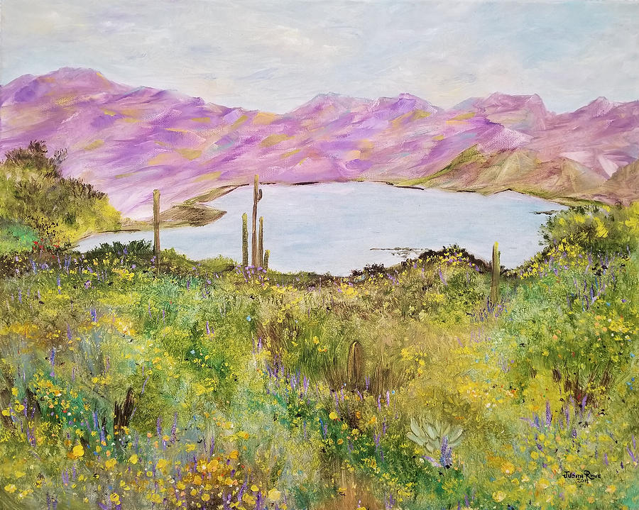 Bartlett Lake in Spring by Judith Rhue