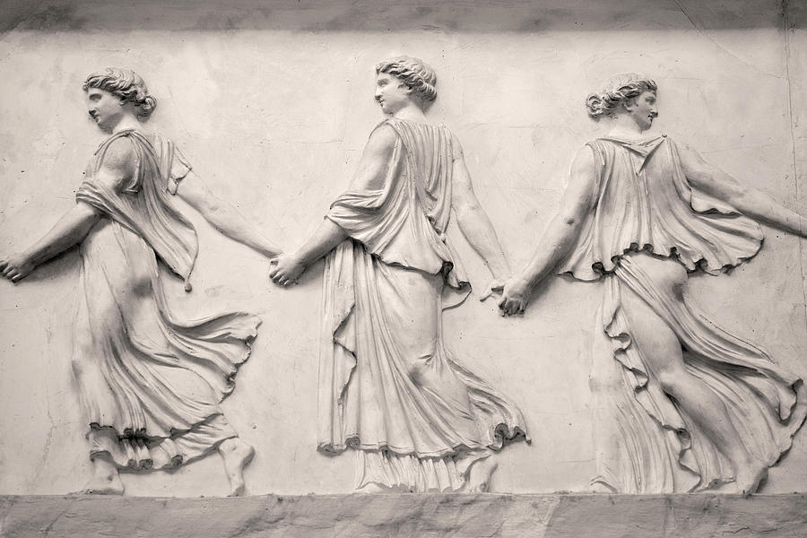Bas relief detail / The Vatican Museum by Bob Duncan