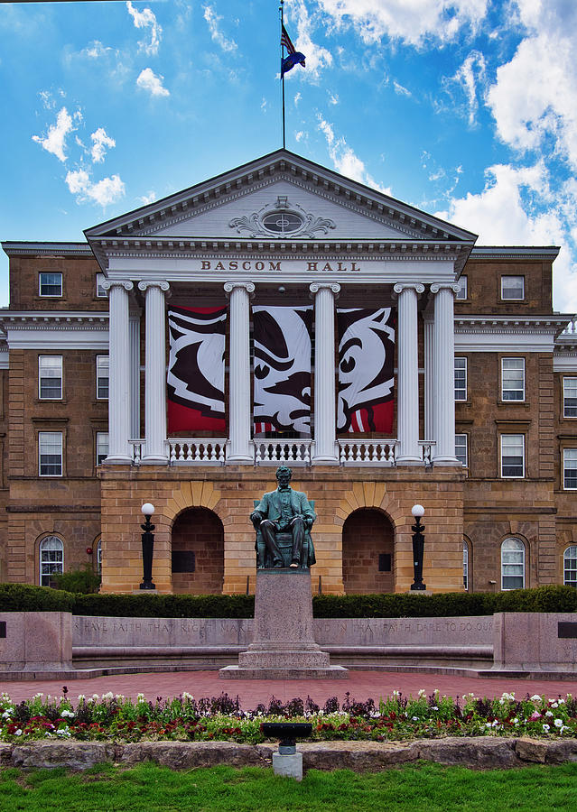 Bascom Hall - Madison - Wisconsin Photograph by Steven Ralser