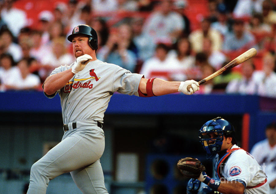 Baseball - Mark Mcgwire Photograph by Icon Sports Wire
