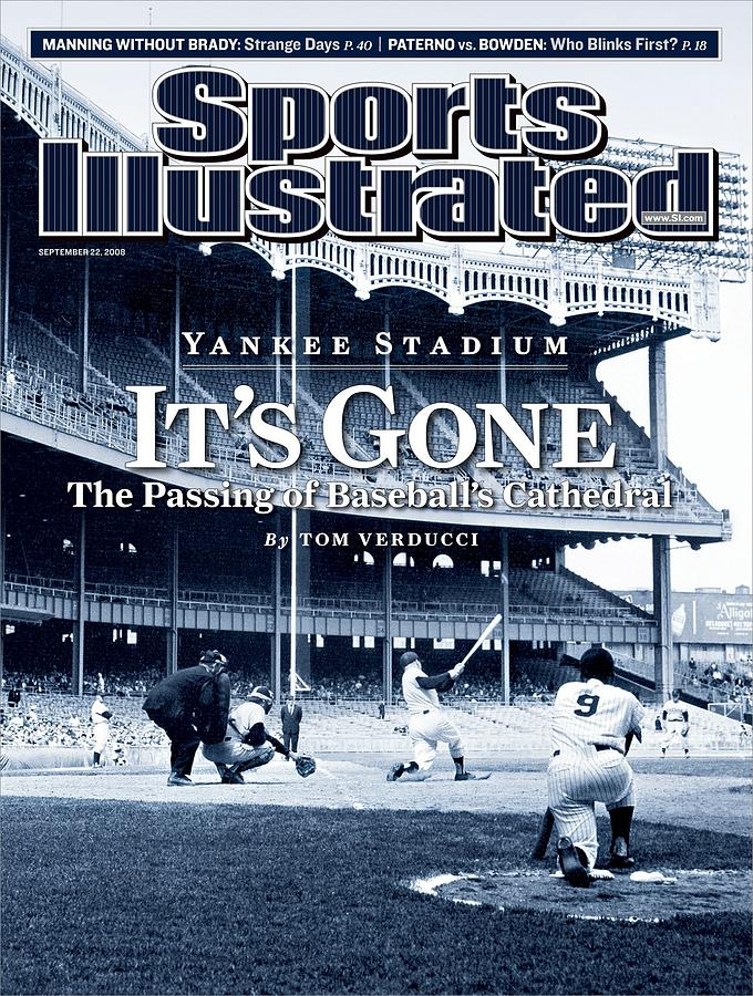 Baseball New York Yankees Micke... Sports Illustrated Cover Photograph by Sports Illustrated
