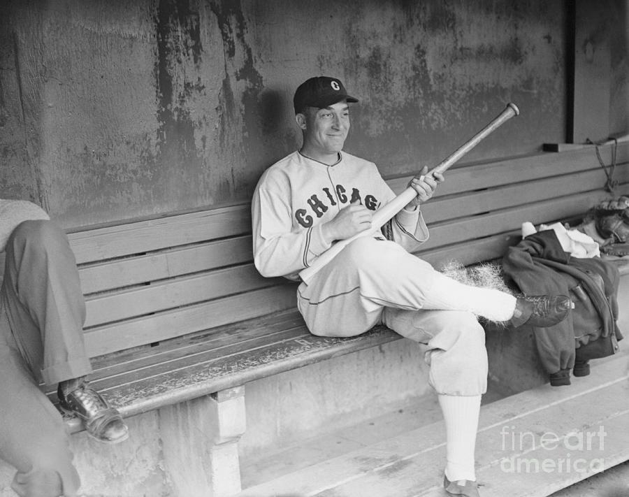 Baseball Player Al Simmons Playing Air Photograph by Bettmann