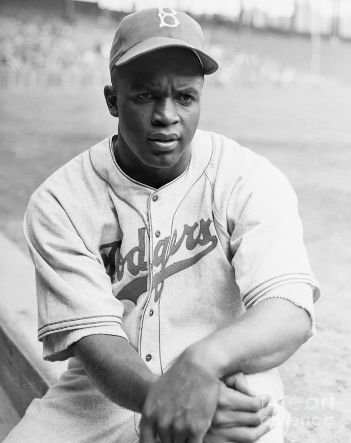Baseball Player Jackie Robinson Photograph by Bettmann