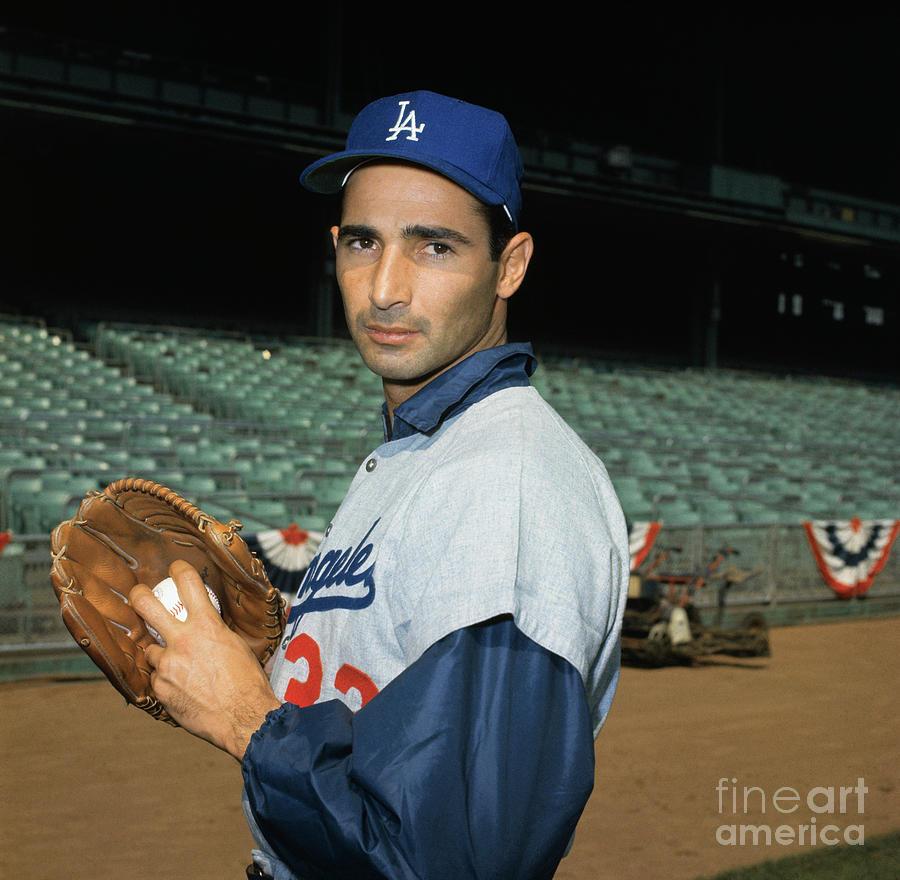 Baseball Player Sandy Koufax Photograph by Bettmann