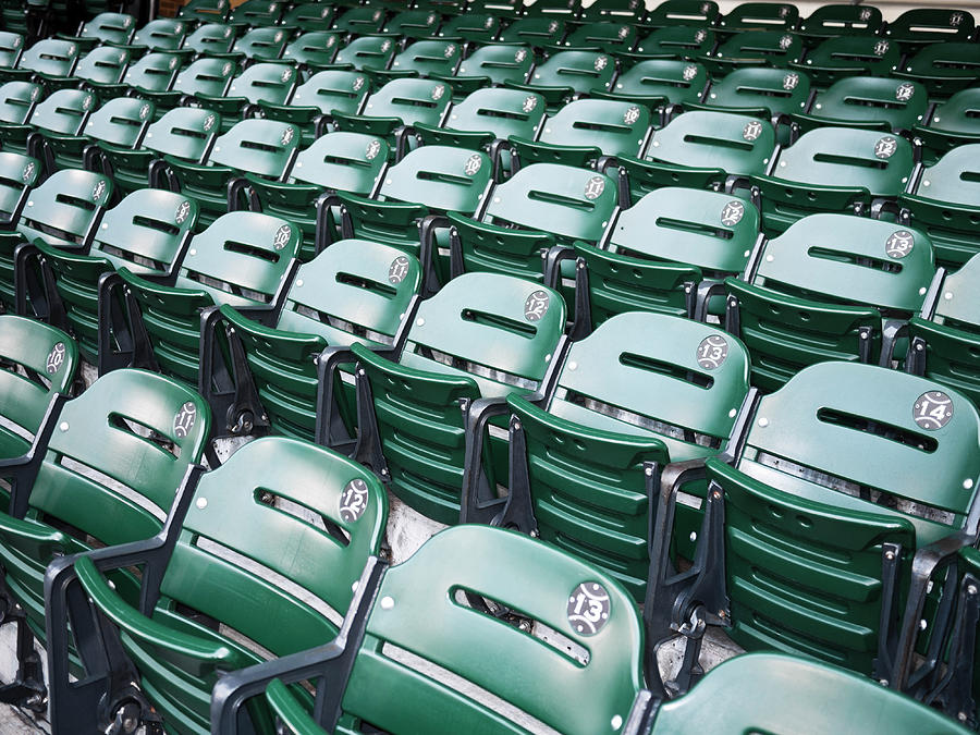 Baseball Stadium Seats Photograph by Nazdravie
