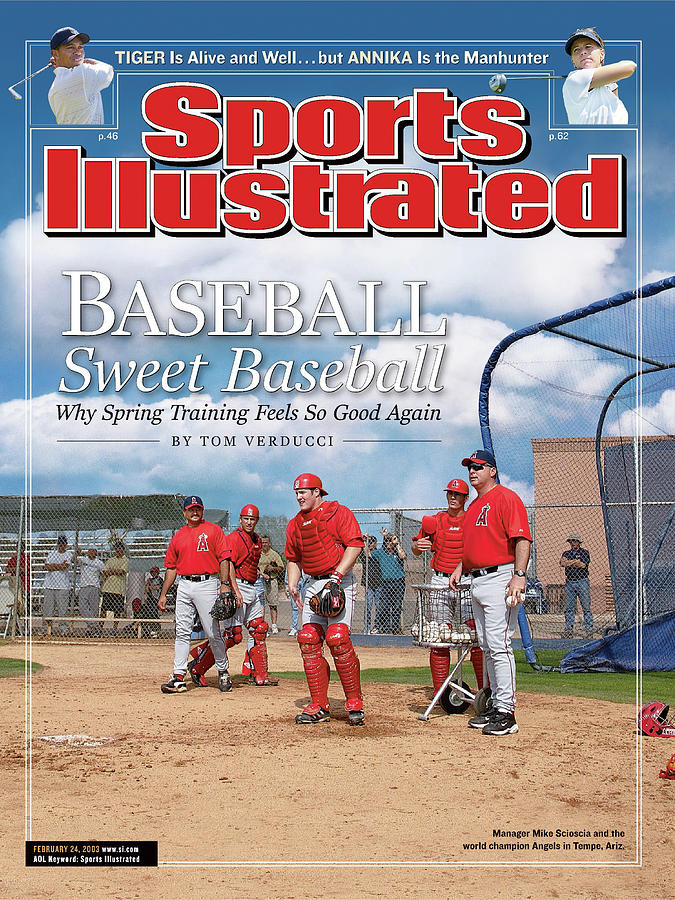 Baseball Sweet Baseball Why Spring Training Feels So Good Sports Illustrated Cover Photograph by Sports Illustrated