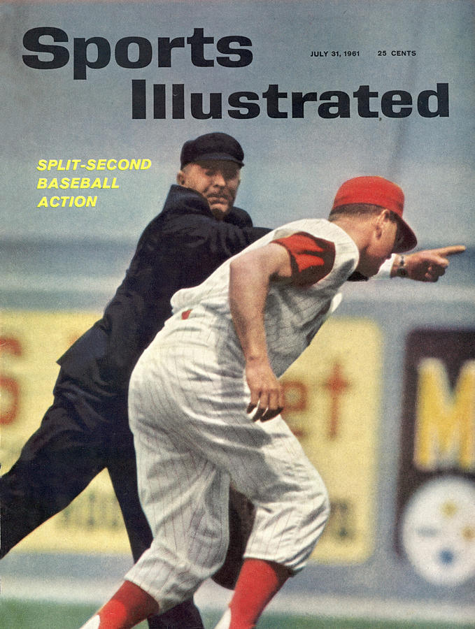Baseball Umpire Sports Illustrated Cover Photograph by Sports Illustrated