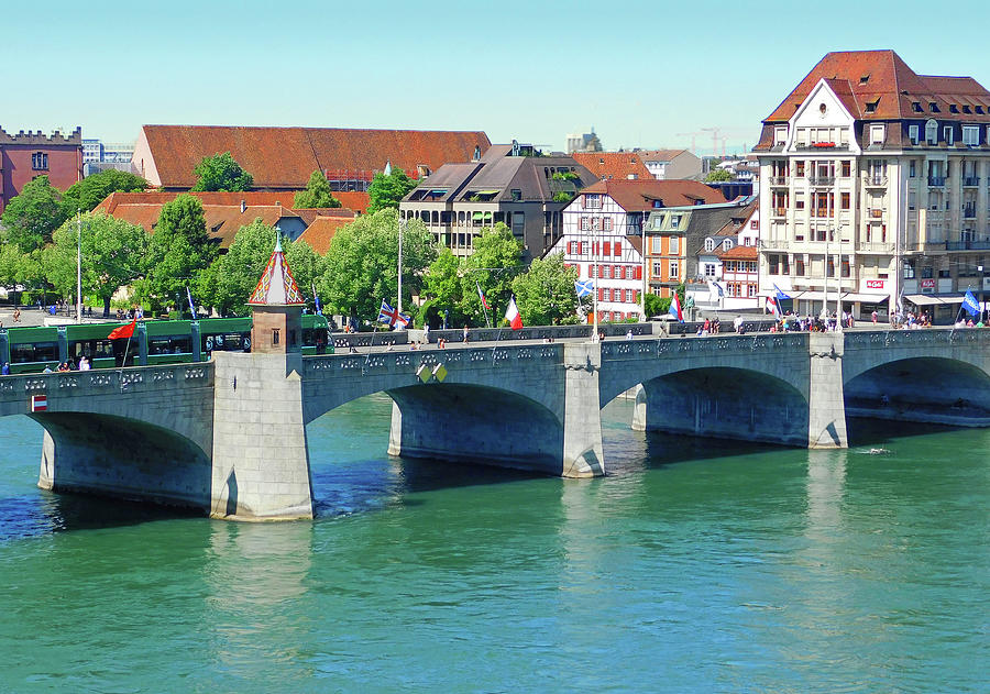 Basel On the Rhine2 by Emmy Marie Vickers