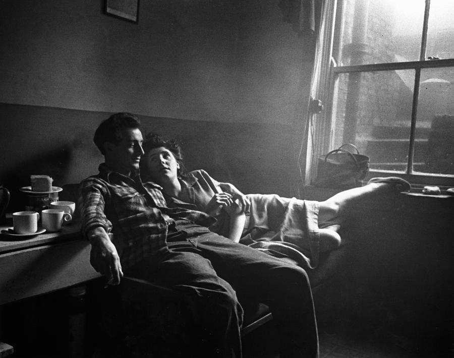 Basement Blues Photograph by Bert Hardy