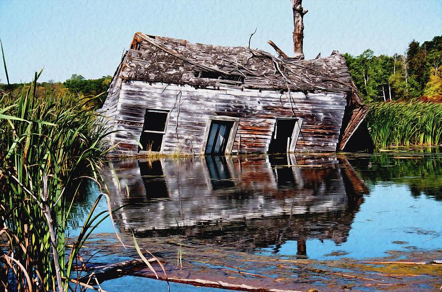 Basement flood  by David Matthews